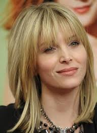 hairstyle for50 with a fringe beautiful short bob hairstyles and haircuts with bangs 50th woman