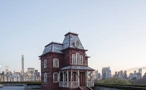 the bates motel haunts the met rooftop sculpture garden this summer