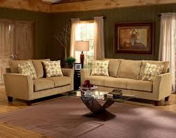 barton camel fabric casual living room sofa u0026 loveseat set