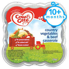 ents cuisine cow gate country vegetable and beef casserole 230g 10 mth tesco