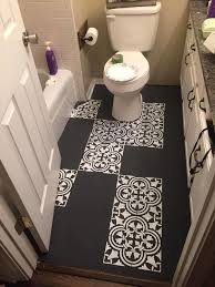 Floor Lino Bathroom Best 25 Painted Linoleum Floors Ideas On Pinterest Paint