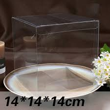 candy apple supplies wholesale wholesale 10pcs 1lot clear pvc box packing wedding christmas favor