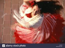 spanish dancing flamenco swirl movement andalusia spain