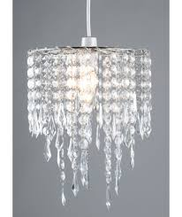 Argos Bathroom Lighting Buy Home Beaded Shade Clear At Argos Co Uk Your Shop