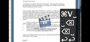 how to write a cover letter in 30 seconds using a mac jobs