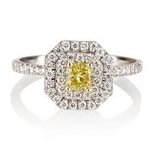 canary engagement ring amazing canary yellow engagement rings collection