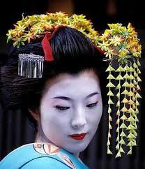 image gallery japanese geisha hair ornaments
