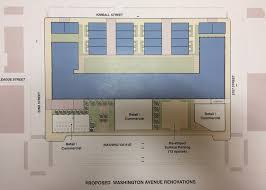 developers present initial plan to redevelop chocolate factory