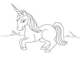 coloring pages of unicorns and fairies fairy tales coloring pages unicorn horn coloring page also printable
