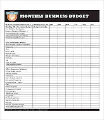 business budget template 8 free pdf excel documents download