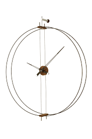 barcelona modern wall clock nomon