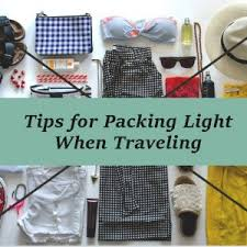 Packing Light Tips Travel Tips Latest Blog Posts Uno Adventure And Holidays
