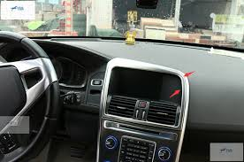 volvo xc60 2015 interior interior for volvo xc60 2014 2015 2016 metal navigation control