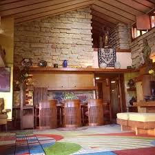 frank lloyd wright home interiors taliesin east frank lloyd wright home and studio south of