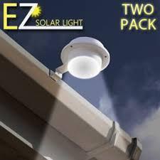 the best solar lights to buy amazon com ez solar light two pack set home gutter led light
