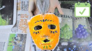 how to make a plaster mask with pictures wikihow