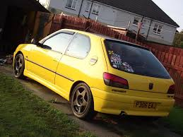 french cars peugeot 106 gti modified peugeot pinterest