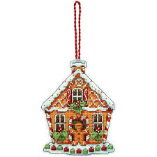 dimensions counted cross stitch kit gingerbread house joann