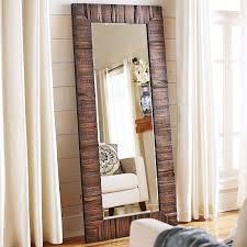 eternal wood framed floor mirror pier 1 imports