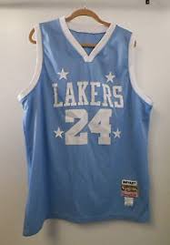 lakers light blue jersey men s hardwood classics nba lakers kobe bryant light blue jersey