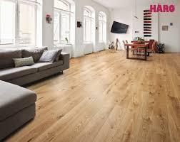 Laminate Flooring Ebay Haro Oak Sauvage Brushed 2v Világos árnyalatok 523 817 Haro