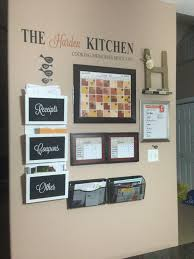 wall ideas for kitchen 21 best command centers images on family organization