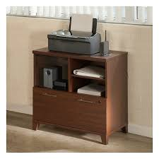 Cabinet For Printer Amazon Com Achieve Printer Stand File Cabinet In Sweet Cherry
