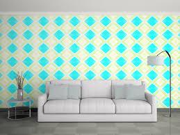 Self Adhesive Wallpaper Buy Royal Blue Washable Self Adhesive Wallpaper India Online At