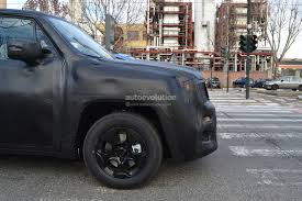 jeep crossover interior spyshots jeep junior crossover spied again with more details