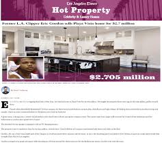 Los Angeles Times Home And Design Press Coverage Jgold Group