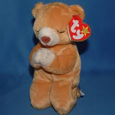 rare 1998 ty beanie baby bear hope with 2 tag errors in mint ebay