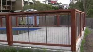 how to install a pool fence by sentrel balustrade and pool fencing