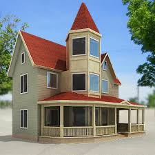 house with tower 3d model red tower house 29 95 buy download