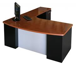 Wood Corner Computer Desk Plans by Simple Brown Wooden Computer Desk With Rolling Out Keyboard Tray