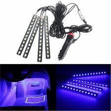 Led Strip Lights For Cars How To Install by Amazon Com Car Interior Lights Ej U0027s Super Car 4pcs 36 Led Dc 12v