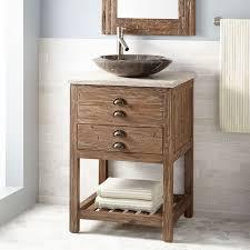 abodo 28 inch single vessel sink bathroom vanity grey finish