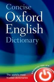 Oxford Dictionary Concise Oxford Dictionary Oxford Dictionaries Oxford