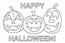 free happy halloween coloring pages adults printable happy