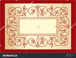 Old Fashioned Picture Frames Old Fashioned Decorative Book Cover Label Stock Vector 58939792