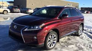lexus rx 350 hybrid new red on parchment 2015 lexus rx 350 awd sportdesign edition