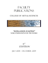 faculty publications 41 edition