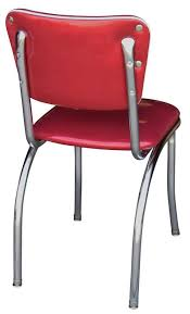 Retro Red Kitchen Chairs - retro dining chairs image is loading retro kitchen chairs metal