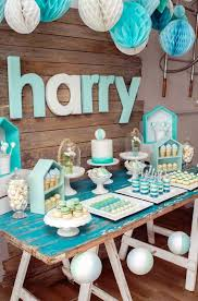 Centerpieces For Boy Baptism by Best 25 Baby Boy Christening Ideas On Pinterest Baby