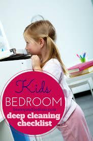 Clean Bedroom Checklist Kids U0027 Deep Cleaning Bedroom Checklist Balancing Beauty And Bedlam