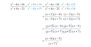 what is multiplication multiplying and dividing rational expressions