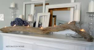 driftwood home decor driftwood candle holder tutorial kim power style