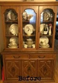 Vintage China Cabinets How To Build A Curio Cabinet From The Top Of A China Hutch