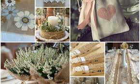 Burlap Decor Ideas Cool Decorating Ideas With Burlap And Lace My Desired Home