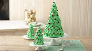 tree cake with mini trees recipe bettycrocker