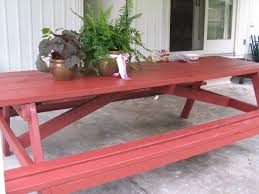 8 Ft Picnic Table Plans Free by 8 Foot Picnic Table Plans Plans Free Download Tame15ght